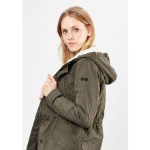 s.Oliver parka dámská zimní bunda kapucí khaki