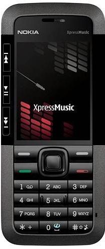 Kryt Nokia 5310 XpressMusic černý