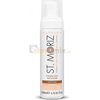 St. Moriz Self Tanning samoopalovací pěna odstín Medium (With Olive Milk and Vitamin E) 200 ml