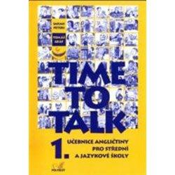 Time to Talk 1. učebnice, Sarah, Tomáš Peters, Gráf