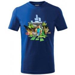d269aeaed Minecraft dětské tričko 2 královská modrá od 351 Kč - Heureka.cz