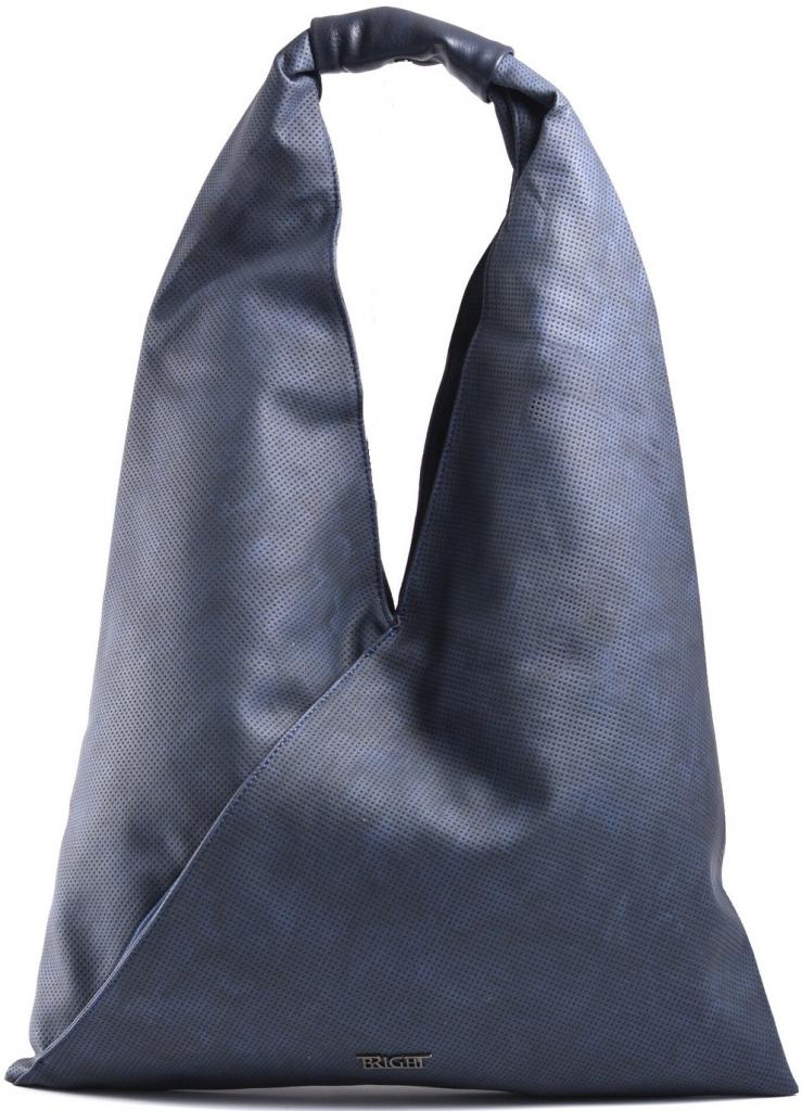 81712d043b Bright Fashion kabelka vak velká A4 přes rameno modrá alternativy -  Heureka.cz