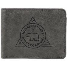 Horsefeathers peněženka Reece gray 0e430d0379