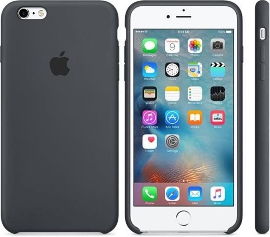 Pouzdro Apple silikonové iPhone 6 6s MKY02ZM A uhlově šedé od 619 Kč -  Heureka.cz 1a4bbe6e57f
