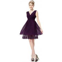791d402d0b0 Přidat odbornou recenzi Fialové krátké Společenské šaty koktejlky s ...