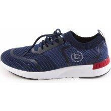 BUGATTI Pánské odlehčené textilní tenisky 341-30561-6900   modrá ffdc88757b