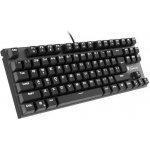 NATEC GENESIS Keyboard THOR 300 TKL GAMING White Backlight USB, US layout