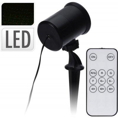 Emos Laserový dekorativní projektor - zelená/červená ZY1937