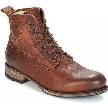 Blackstone Kotníkové boty MID LACE UP BOOT FUR Hnědá
