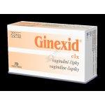 Ginexid vaginální čípky 10 x 2 g