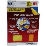 Wash&Wax Sponge 3 dílná sada pro ruční mytí automobilů