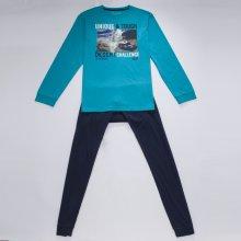 Wolf chlapecké pyžamo S2756C tyrkysová