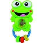 Baby Mix chrastítko se zvukem žába