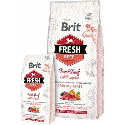 Brit Fresh Beef with Pumpkin Puppy Large Bones & Joints 12kg