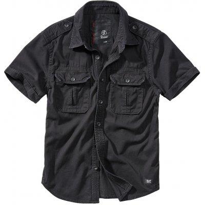 Brandit košile Vintage shirt shortsleeve černá