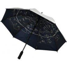 Holový deštník GALAXY s motivem hvězdné mapy