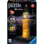 Ravensburger 3D puzzle Big Ben Noční Edice 216d