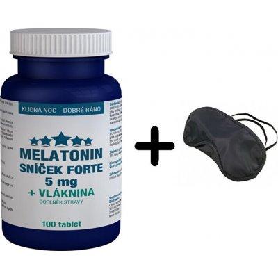 Pharma Activ Melatonin Sníček FORTE 5 mg + Vláknina 100 tablet