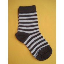 ab1f942884e Trepon Dětské bambusové ponožky BABAR hnědé