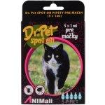 Dr. Pet Spot-On pro kočky 5x1 ml