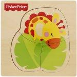 Fisher Price Puzzle 3 dílky Žirafa