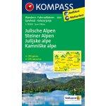 Julische Alpen Steiner Alpen Julské a Kamnišké Alpy 2801