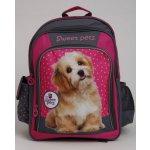BENIAMIN batoh Sweet Pets růžovo-šedý