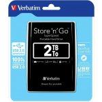 "Verbatim Store 'n' Go 2TB, 2,5"", USB 3.0, 53177"