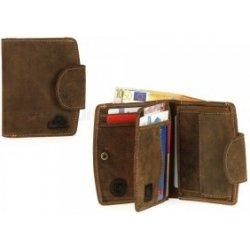 75cc8fd62 GREENBURRY 1791-25 40 tmavě hnědá dámská kožená peněženka ...