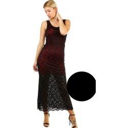 Plesové šaty s výraznou krajkou 399117 černá od 1 120 Kč - Heureka.cz 1c0a01788bc