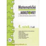 Matematické minutovky pro 4. ročník/ 1. díl - 4. ročník - Hana Mikulenková