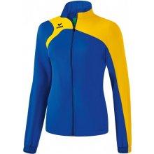 Erima CLUB 1900 2.0 REPREZENTAČNÍ bunda dámská modrá/Žlutá
