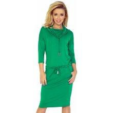 Numoco dámské šaty 44-5 zelená 09b568b2e1