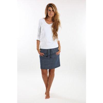 Evona sukně jeans 311 modrá
