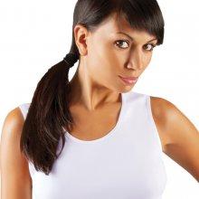 SARA košilka široké ramínka Emili bílá abc5b512c3