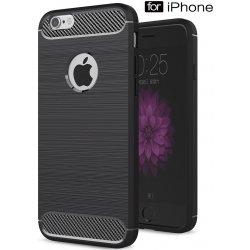 Pouzdro na mobilní telefon Pouzdro Beweare Ohebné carbon iPhone 6 Plus 6S  Plus - černé 4ee0a0ed316