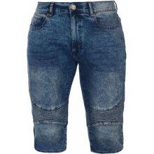 34921fa718e No Fear Belt Below The Knee shorts Mens Dark Wash