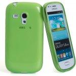 Pouzdro CELLY Gelskin Samsung Galaxy S3 Mini zelené
