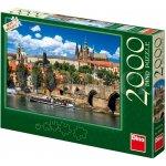 Dino Puzzle 2000 dílků Pražský hrad, Praha, Česká republika