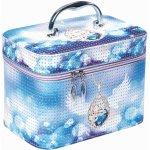 Recenze Top Choice Jewerly Winter kosmetický kufřík světle modrý L 96891