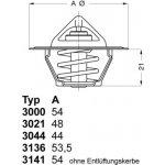 WAHLER Termostat WH 3021.88D50