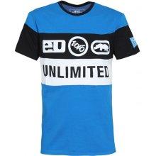 Ecko Unltd Tri-Logo T Shirt Sapphire Blue