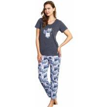 dd0583ed977 Vienetta Secret Three Cats dámské pyžamo šedé