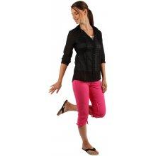 Glara Dámské tříčtvrteční kalhoty - i pro plnoštíhlé růžová 67465