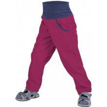 Unuo Dívčí letní softshellové kalhoty bez zateplení malinové ef0f6fdaf5