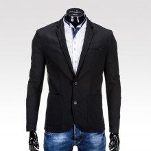 Brantley pánské sako se záplatami na loktech černá