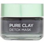 L´Oréal Pure Clay Detox Mask Intenzivní čisticí pleťová maska 50 ml