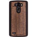 Pouzdro SMARTWOODS - Dřevěné LG G3 - Wenge