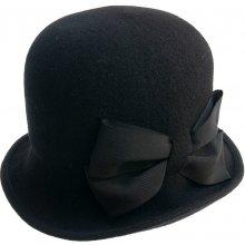 62f609caa65 Pletený plstěný klobouk černá 001 090018 52510 13BA