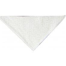 bavlněný šátek Puntíky krémová
